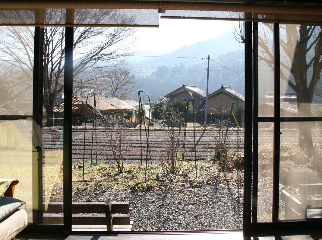大きな窓から見える絶景