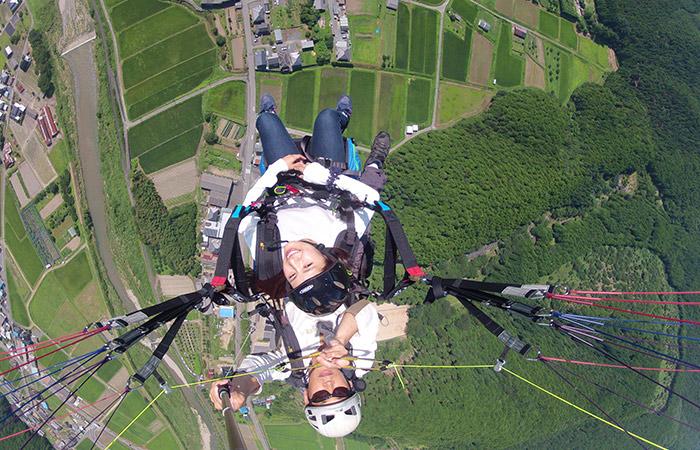 高度差500mから空中散歩