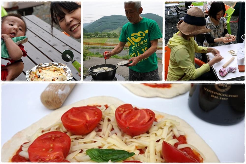パラと藪さんとピザと水餃子と蛍と雷